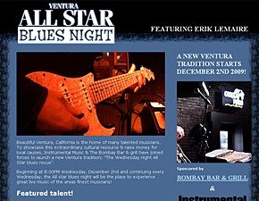 Ventura All Star Blues Night